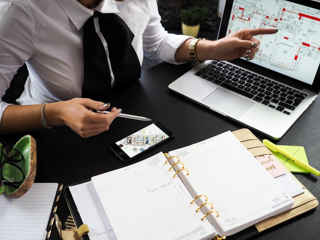 Sicherheit im Büro, Notausgang, Büroorganisation, Projektmanagement