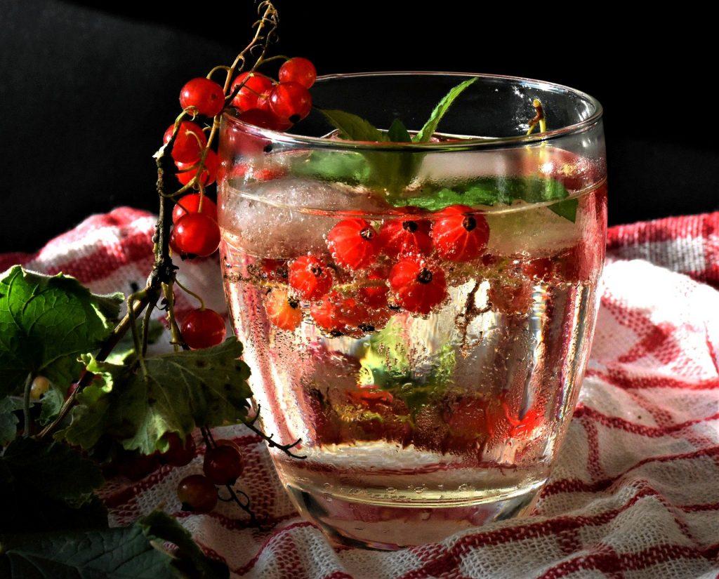 Infused Water, Vitamine, Johannisbeeren