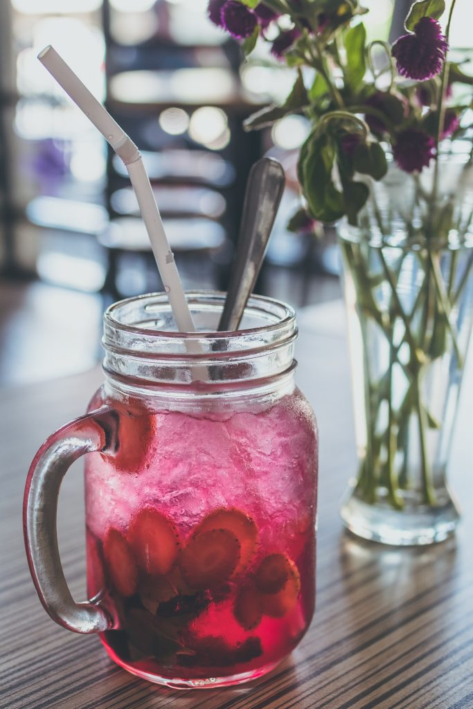 Infused Water, Sommer, Büro, Hitze